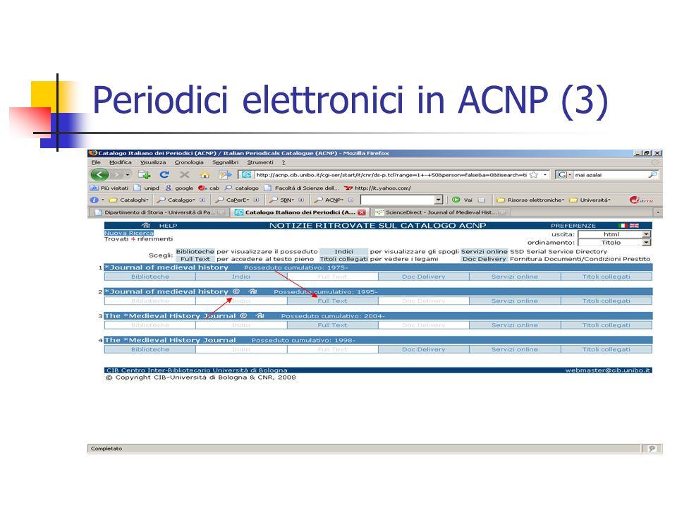 Periodici elettronici in ACNP (3)