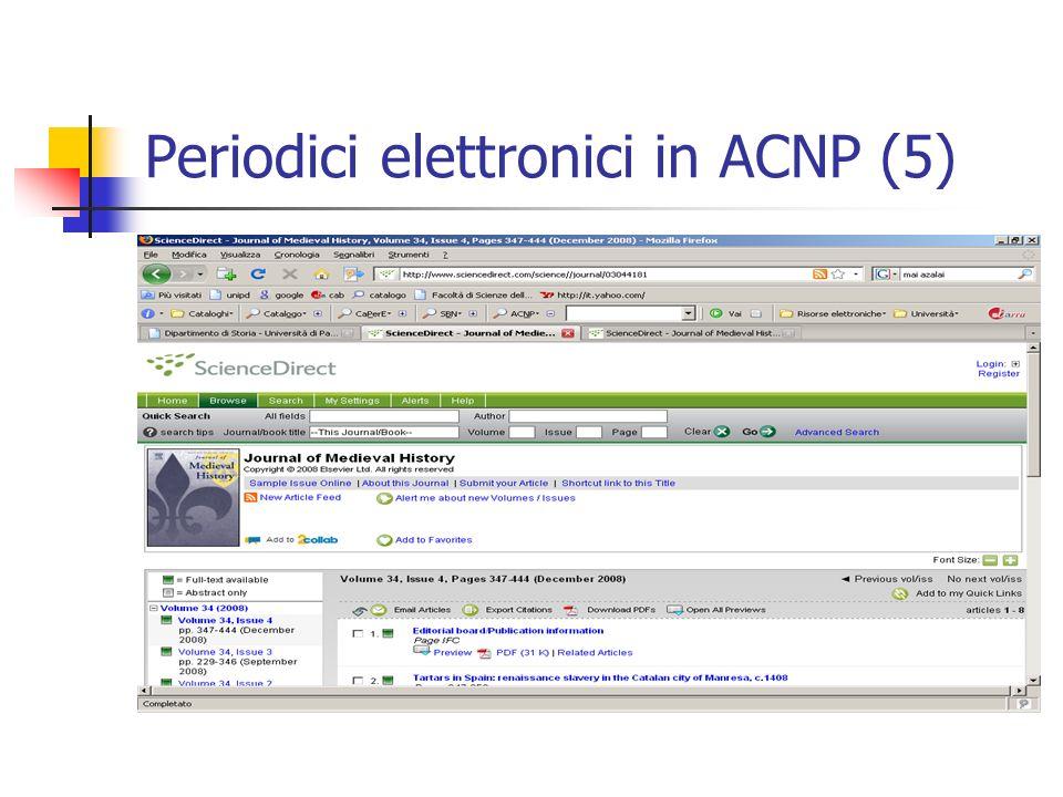Periodici elettronici in ACNP (5)