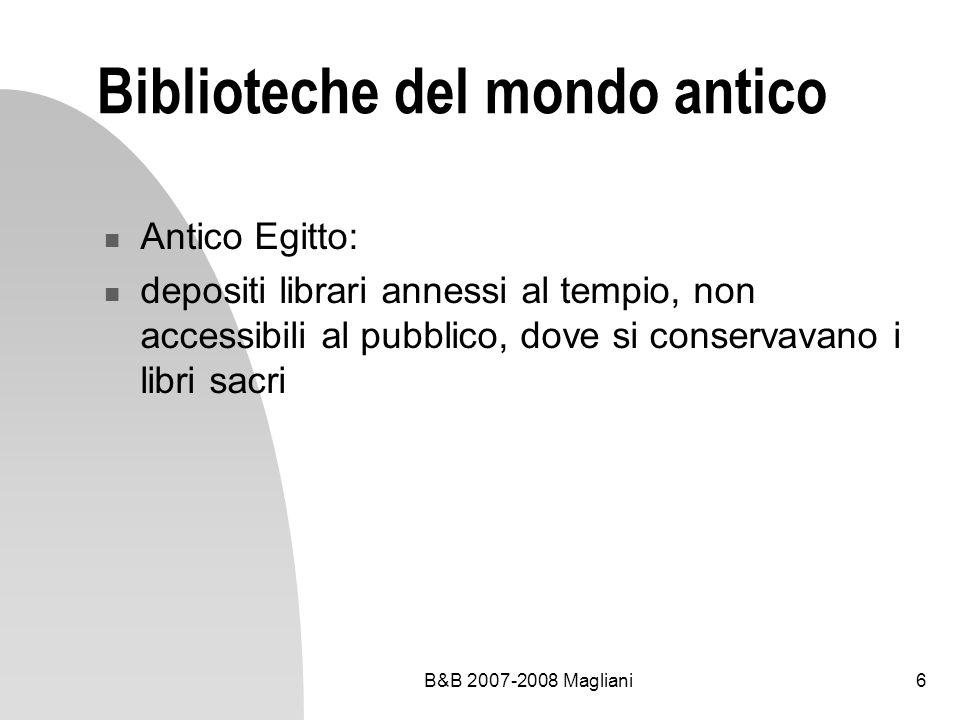 B&B 2007-2008 Magliani47 Il Duemila e oltre La resistenza delle biblioteche: biblioteca degli asinelli in Etiopia