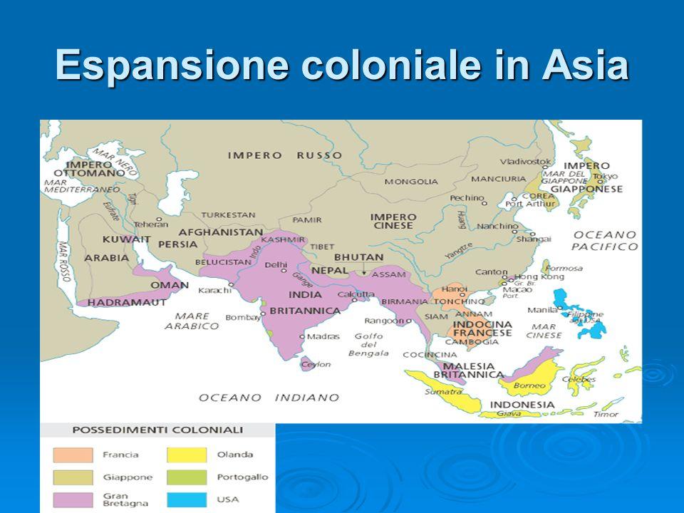 Espansione coloniale in Asia