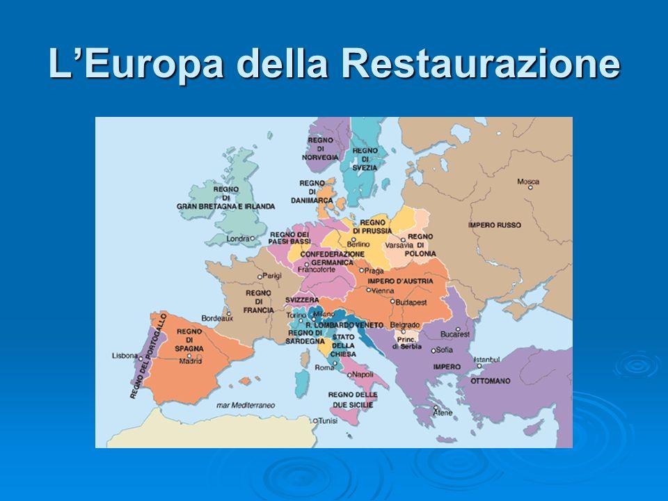 LImpero austriaco 1815 LImpero austriaco comprende LImpero austriaco comprende Austria Austria Slovenia Slovenia Boemia Boemia Ungheria Ungheria Lombardo-Veneto Lombardo-Veneto Galizia Galizia