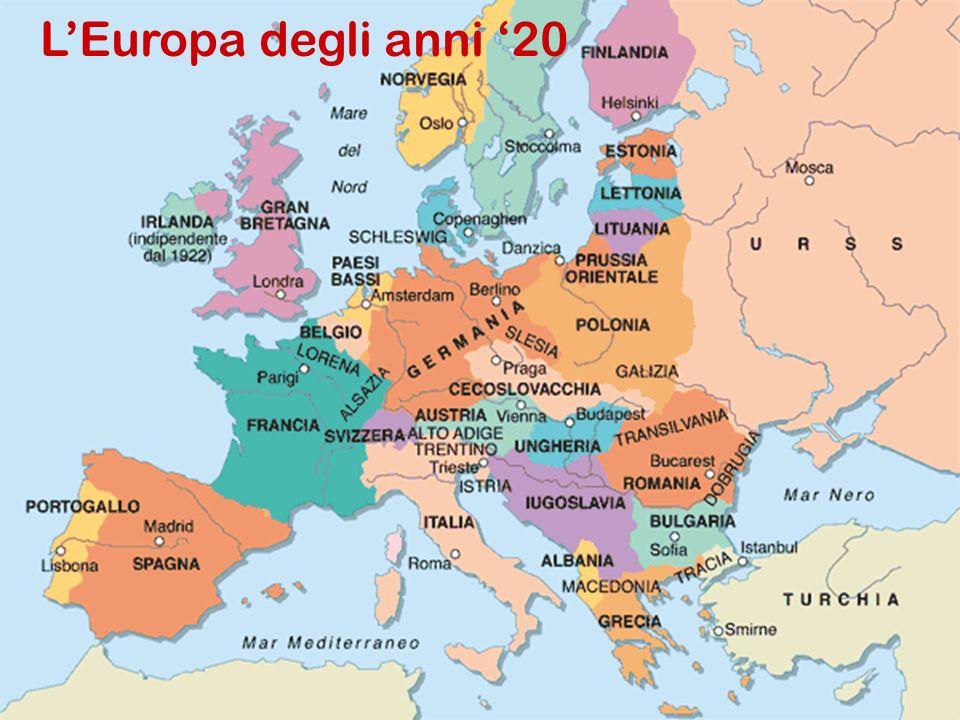 LEuropa degli anni 20