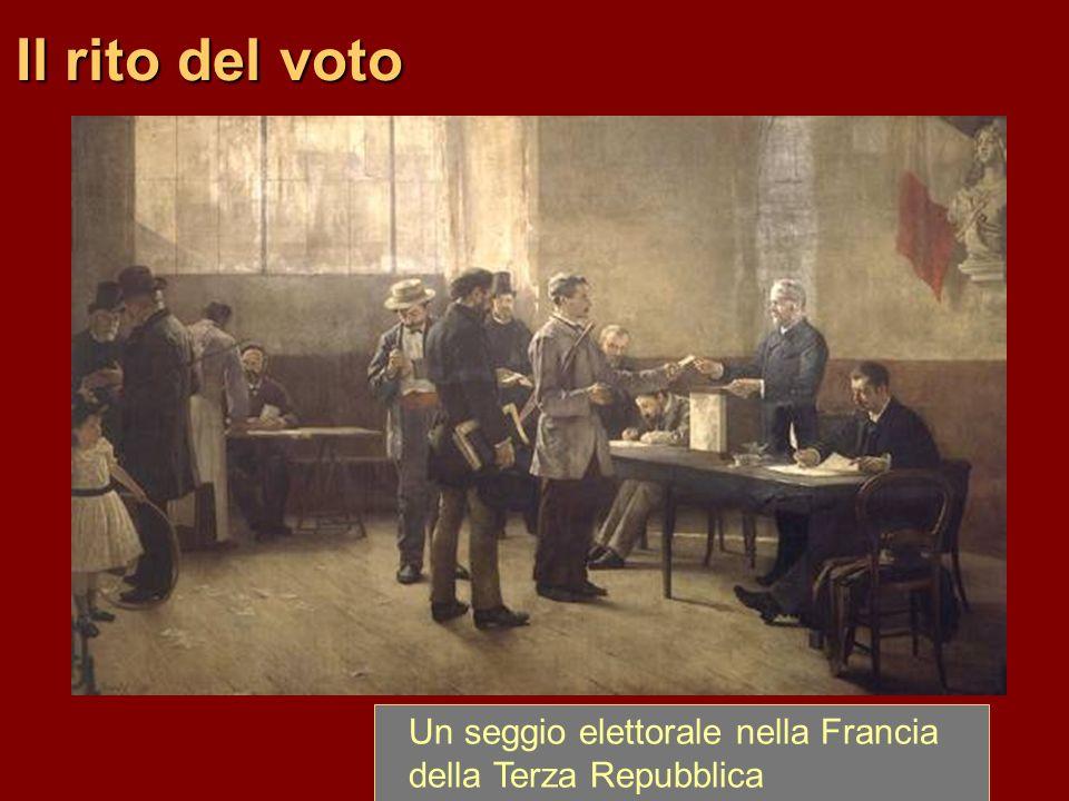 Il rito del voto Un seggio elettorale nella Francia della Terza Repubblica