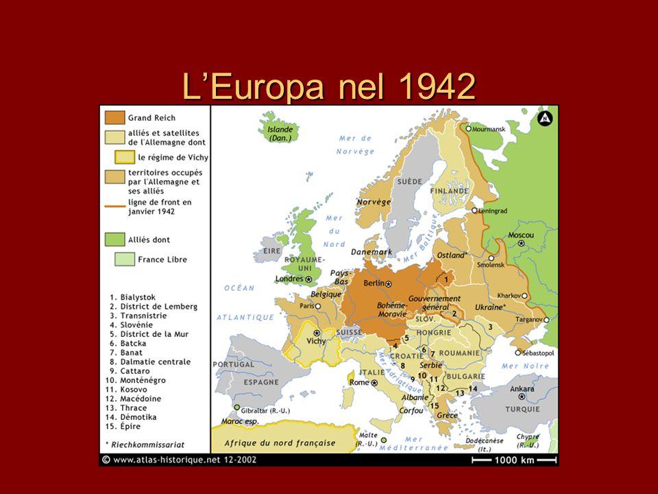 LEuropa nel 1942