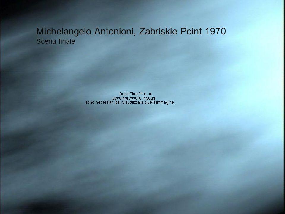 Michelangelo Antonioni, Zabriskie Point 1970 Scena finale