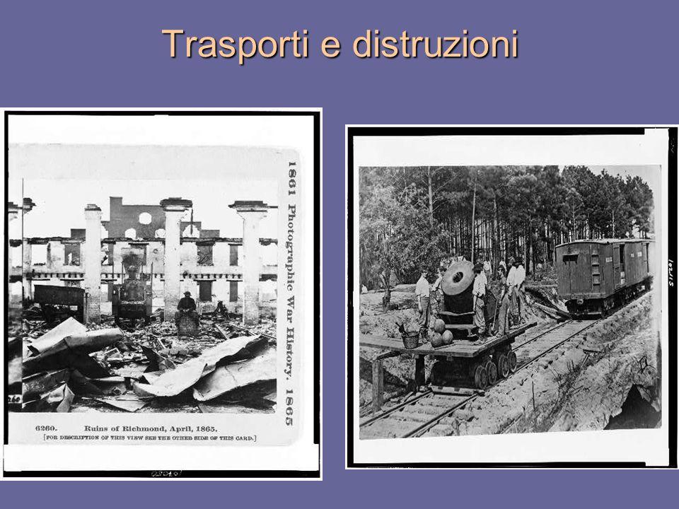 Trasporti e distruzioni