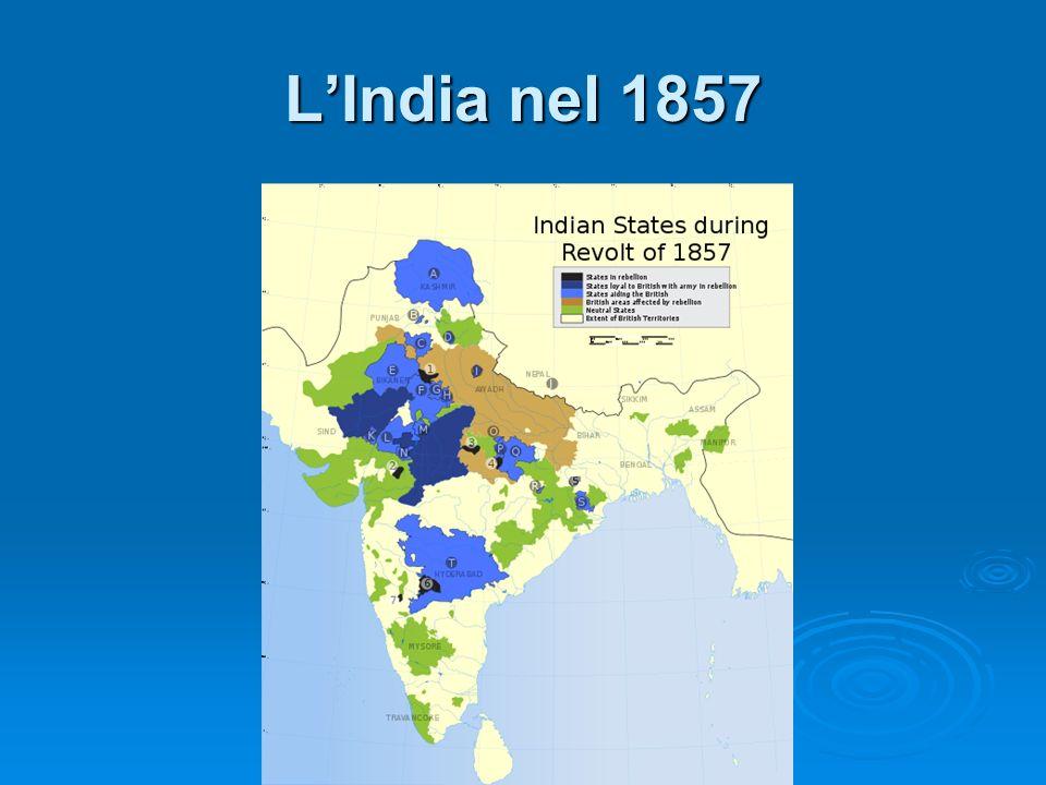 LIndia nel 1857