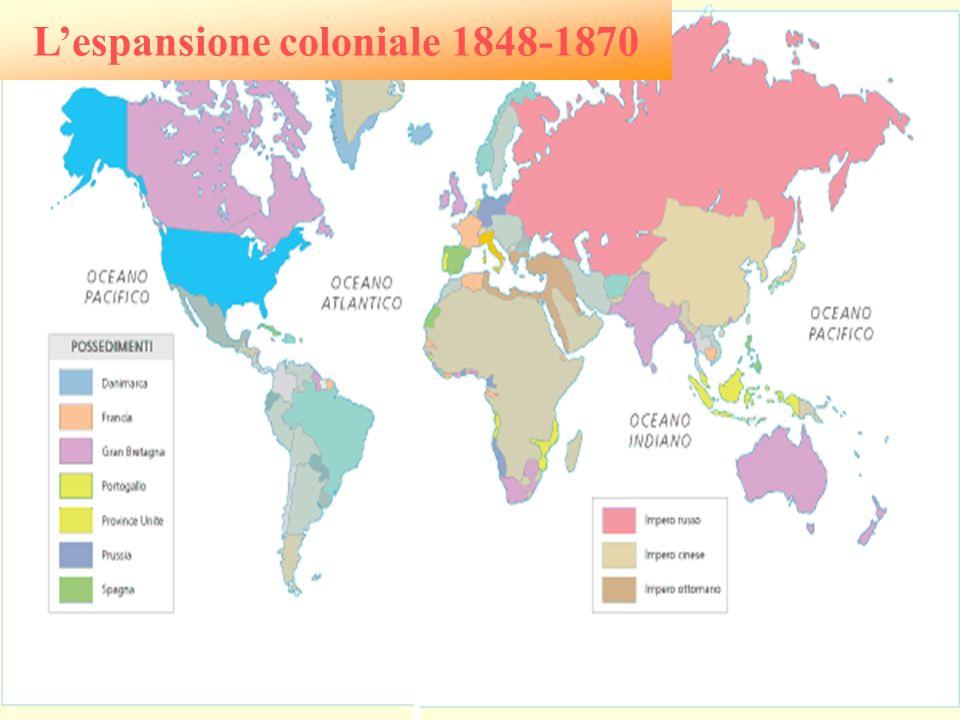 Lespansione coloniale 1848-1870