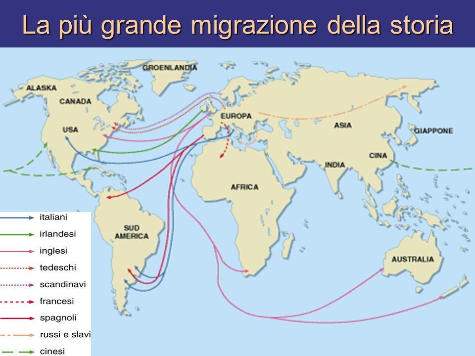 La più grande migrazione della storia