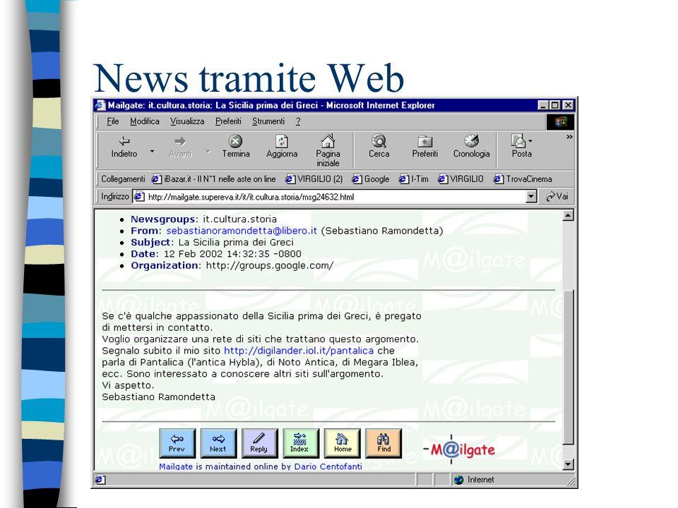News tramite Web