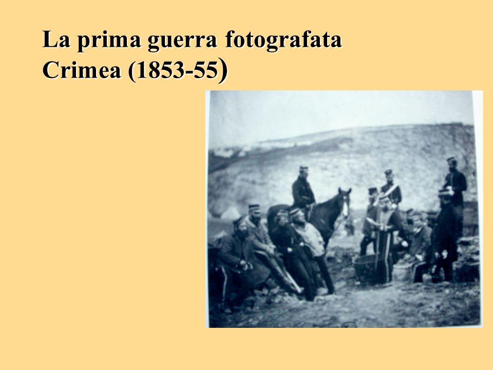 La prima guerra fotografata Crimea (1853-55 )