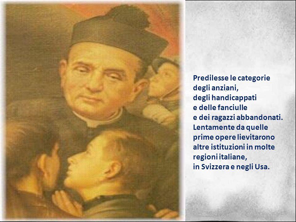 Dopo gli studi nel seminario diocesano di Como fu consacrato sacerdote il 26 maggio 1866. Al termine di unesperienza di qualche anno di vita pastorale