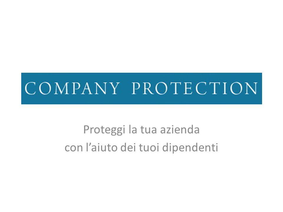 Proteggi la tua azienda con laiuto dei tuoi dipendenti