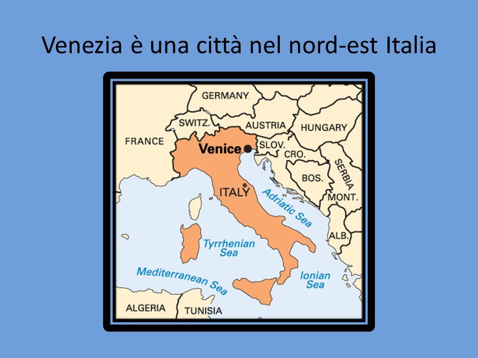 Venezia è una città nel nord-est Italia