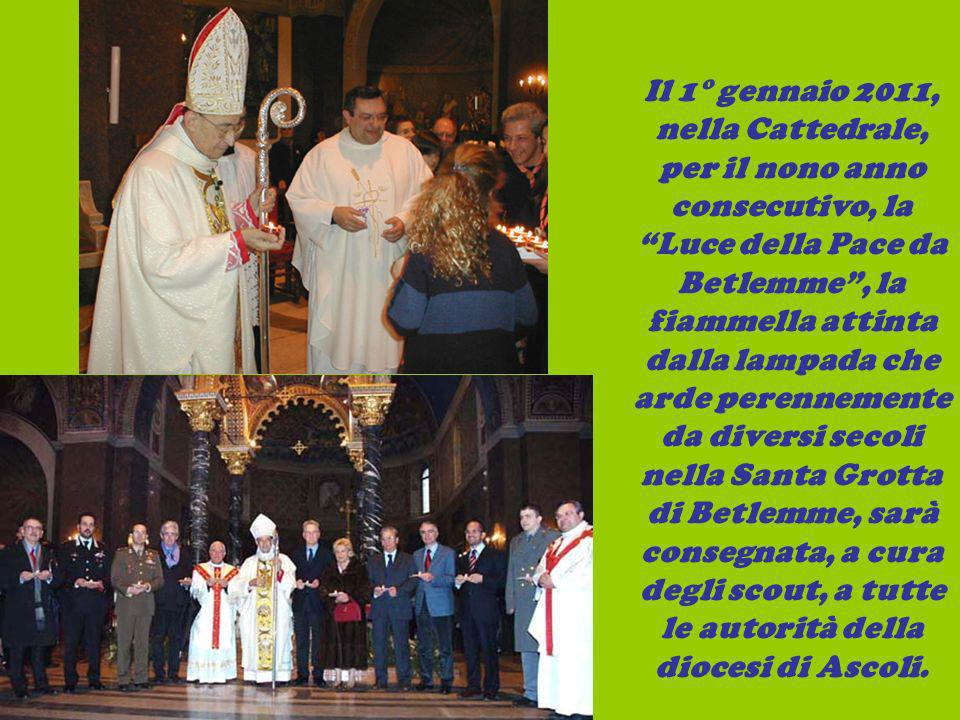 Il 1° gennaio 2011, nella Cattedrale, per il nono anno consecutivo, la Luce della Pace da Betlemme, la fiammella attinta dalla lampada che arde perenn