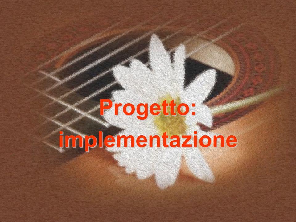 Progetto:implementazione