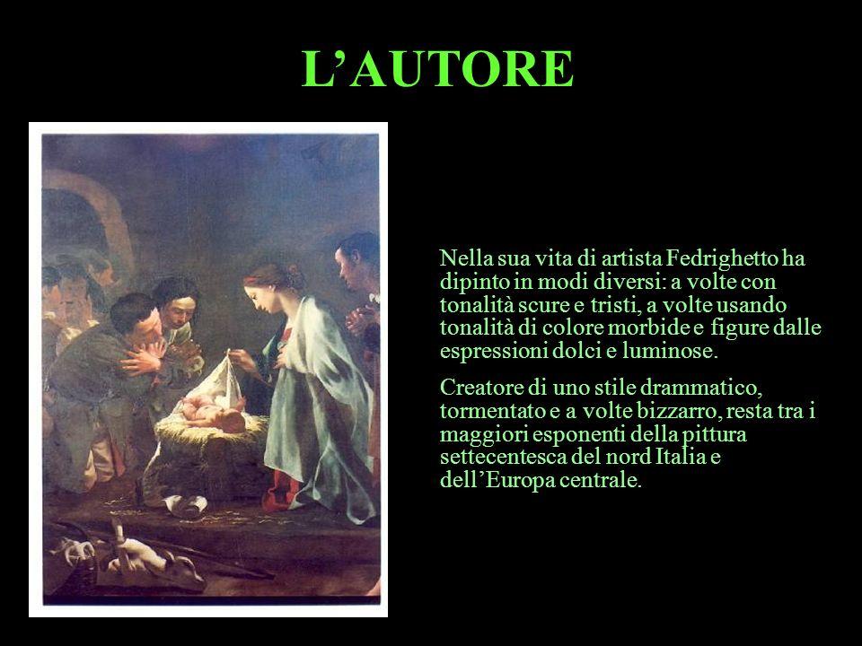 LOPERA E un notturno settecentesco di profondo raccoglimento che racconta ladorazione dei Pastori nel Vangelo di Luca.