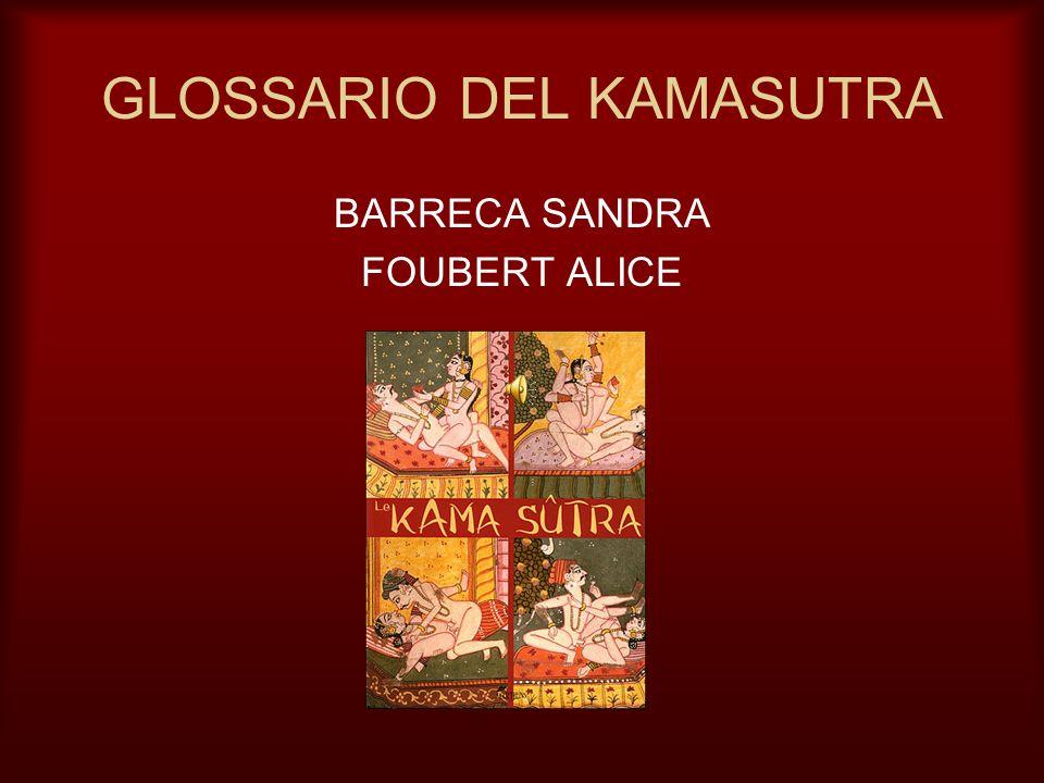 GLOSSARIO DEL KAMASUTRA BARRECA SANDRA FOUBERT ALICE