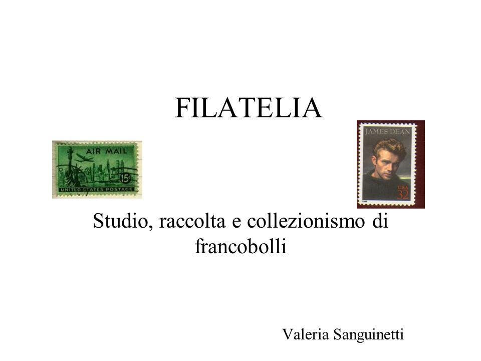 FILATELIA Studio, raccolta e collezionismo di francobolli Valeria Sanguinetti