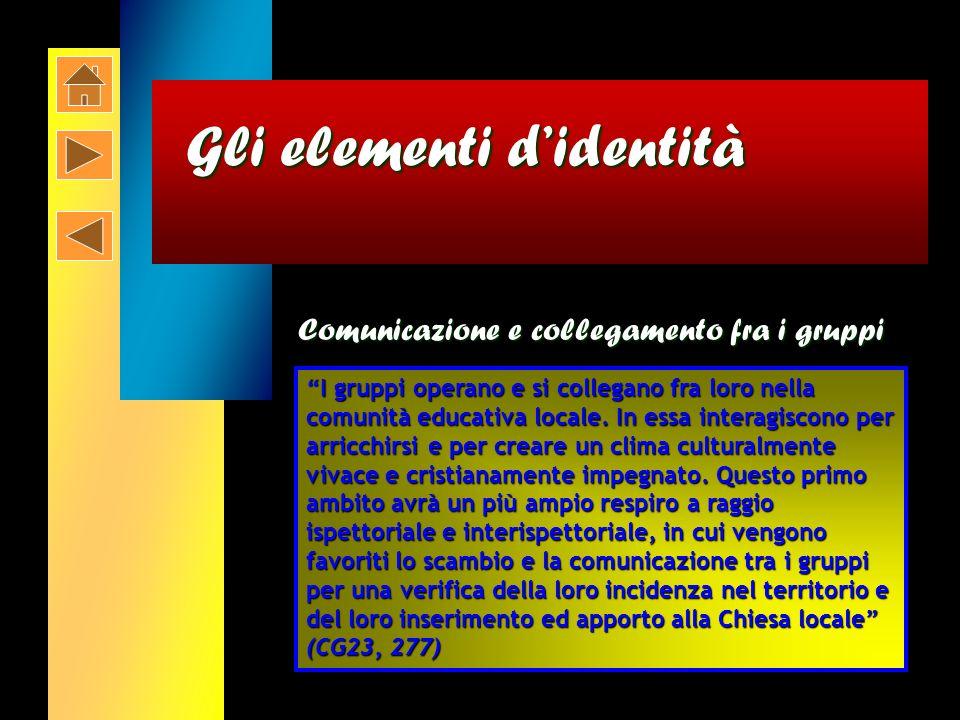La spiritualità giovanile Salesiana Gli elementi di Identità Gli elementi di Identità...che si decide nella vita quotidiana...impastata di gioia e di