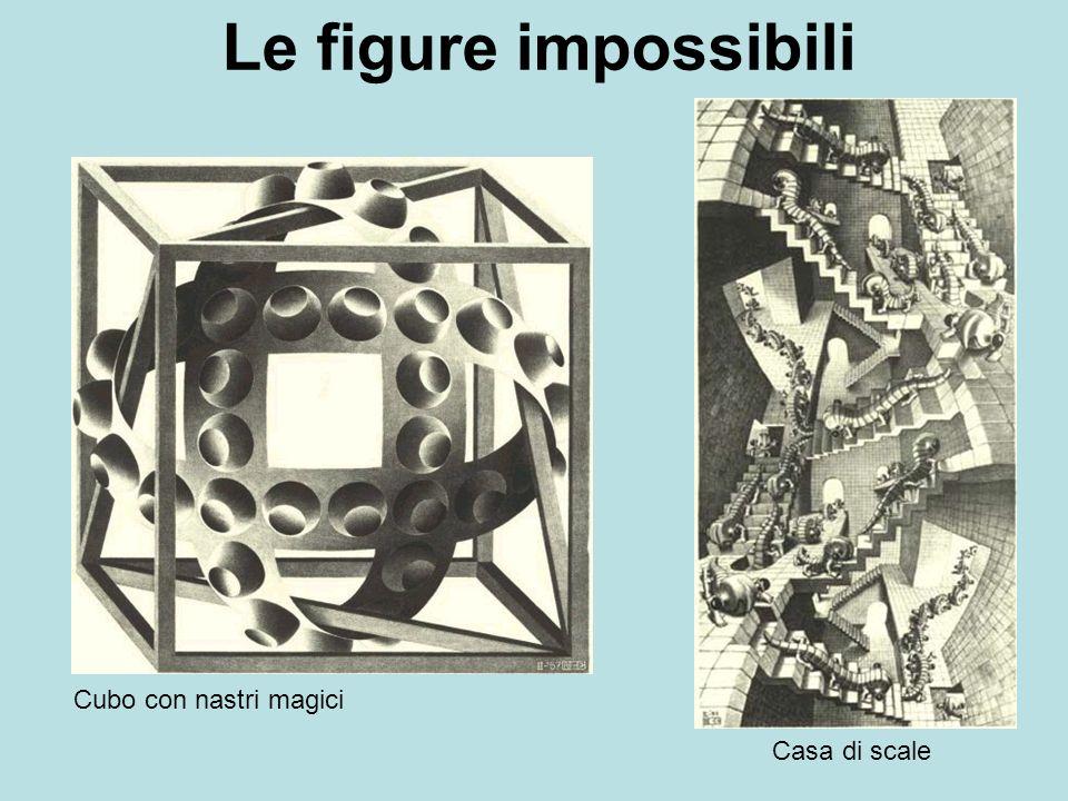 Cubo con nastri magici Casa di scale