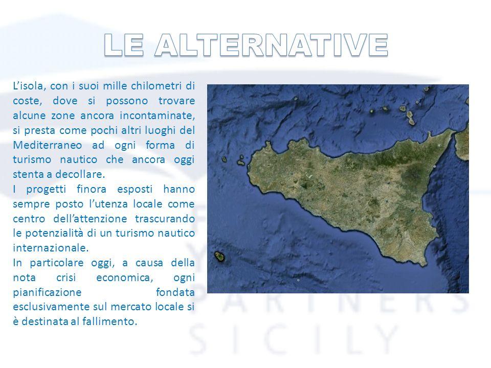 Lisola, con i suoi mille chilometri di coste, dove si possono trovare alcune zone ancora incontaminate, si presta come pochi altri luoghi del Mediterraneo ad ogni forma di turismo nautico che ancora oggi stenta a decollare.