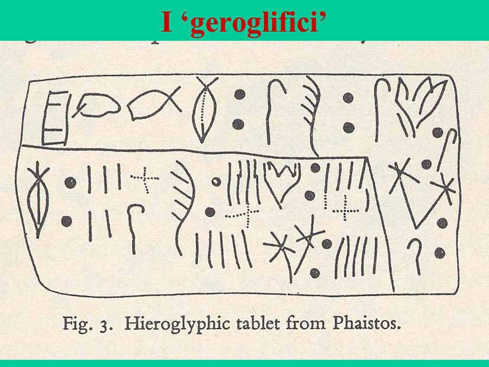 54 I geroglifici