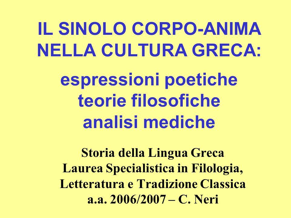 Lanima della scienza ellenistica il Museo e la medicina alessandrina (III sec.