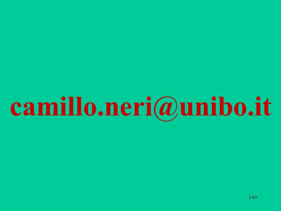 140 camillo.neri@unibo.it