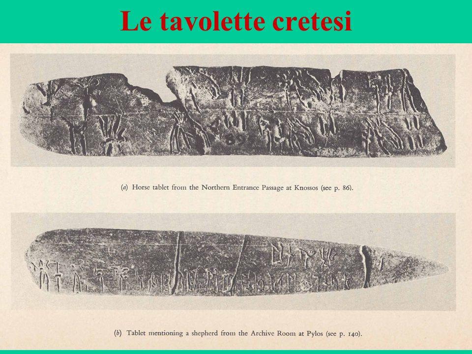 51 Le tavolette cretesi