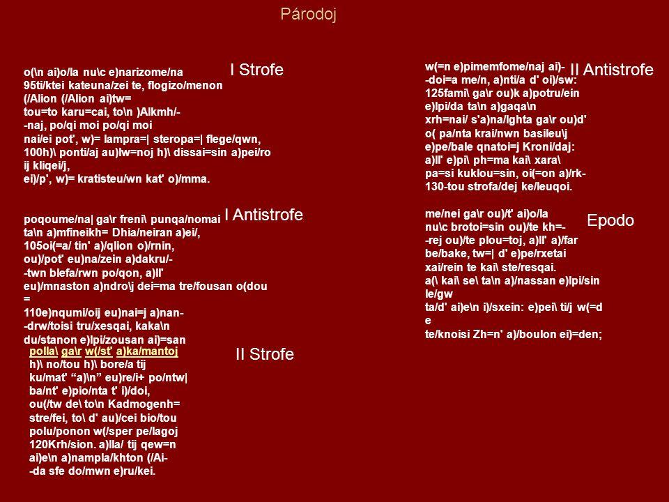 Sofocle (Colono, 496 a.C.– Atene, 406 a.C)Colono496 a.C.Atene406 a.C e le innovazioni nel coro.