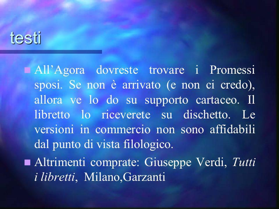 Manzoni e Verdi Due miti del nazionalismo italiano Due miti del nazionalismo italiano