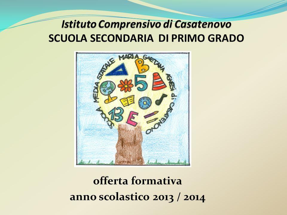 offerta formativa anno scolastico 2013 / 2014