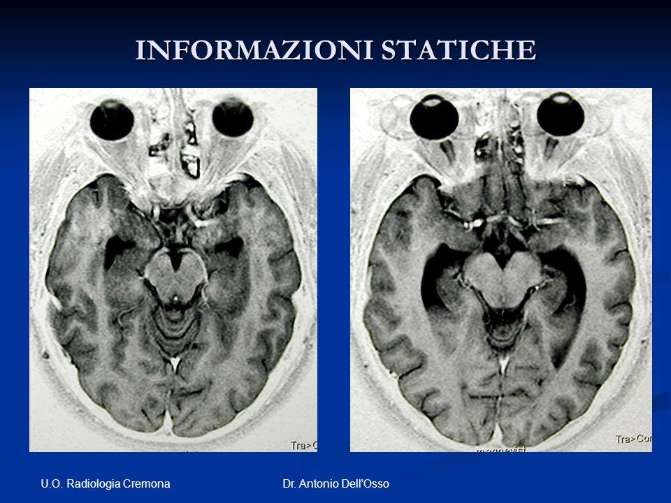 U.O. Radiologia Cremona Dr. Antonio Dell'Osso INFORMAZIONI STATICHE