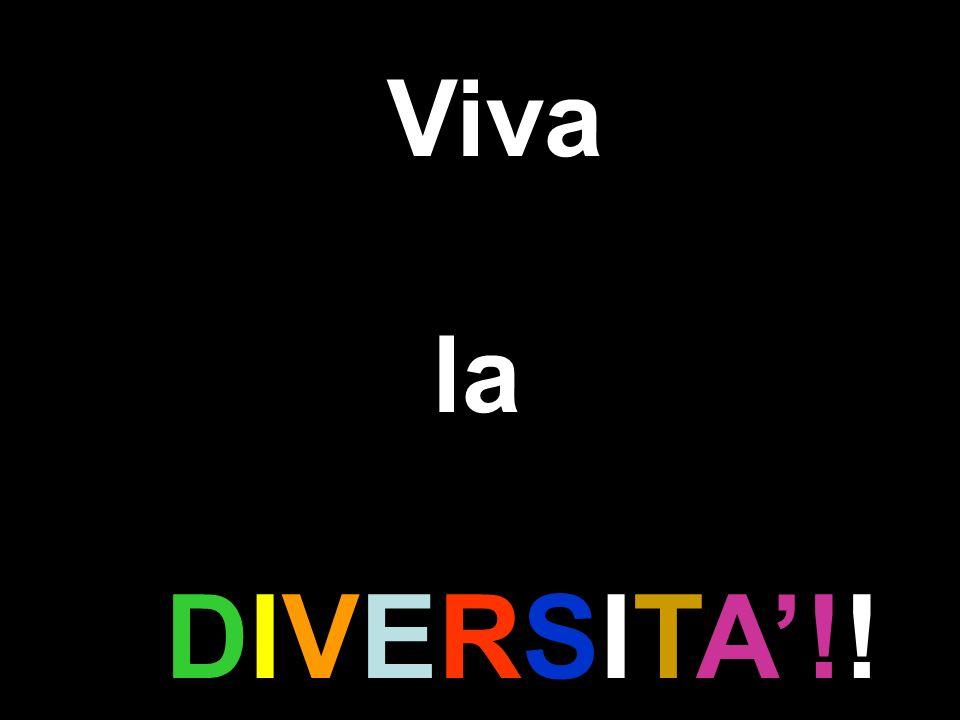 Viva la DIVERSITA!!