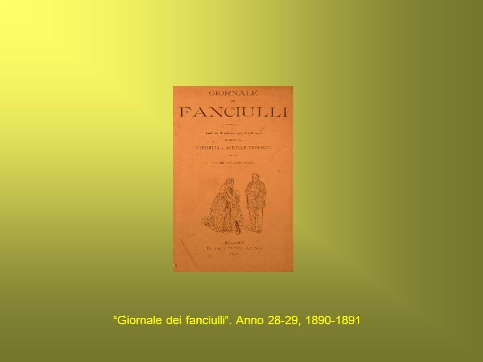Giornale dei fanciulli. Anno 28-29, 1890-1891