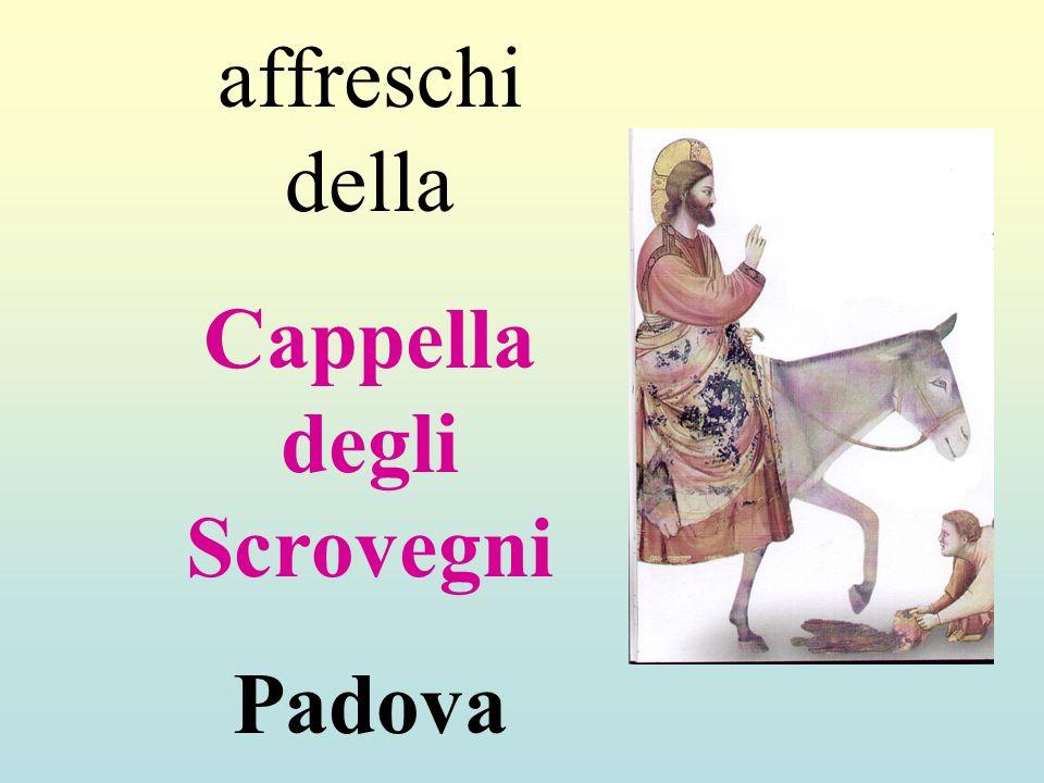 affreschi della Cappella degli Scrovegni Padova