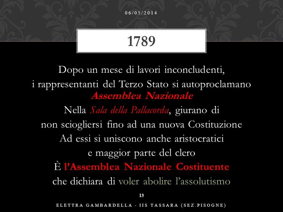 CONVOCAZIONE STATI GENERALI 06/05/2014 ELETTRA GAMBARDELLA - IIS TASSARA (SEZ.PISOGNE) 12