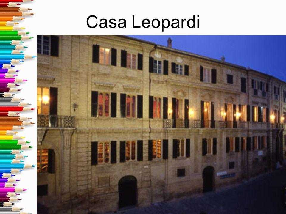 Monumento di Leopardi a Recanati