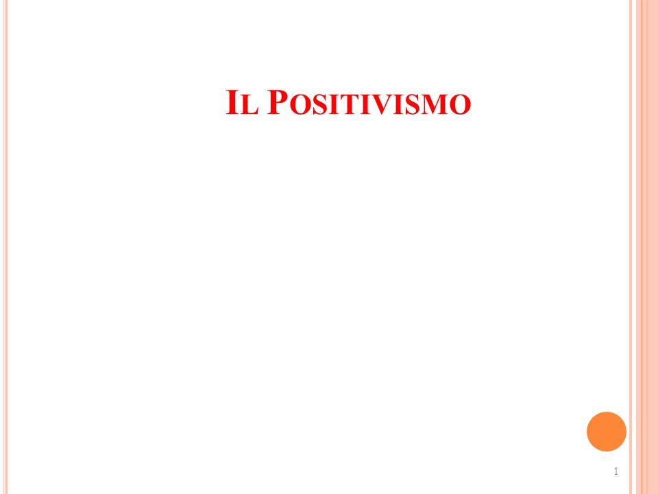1 I L P OSITIVISMO