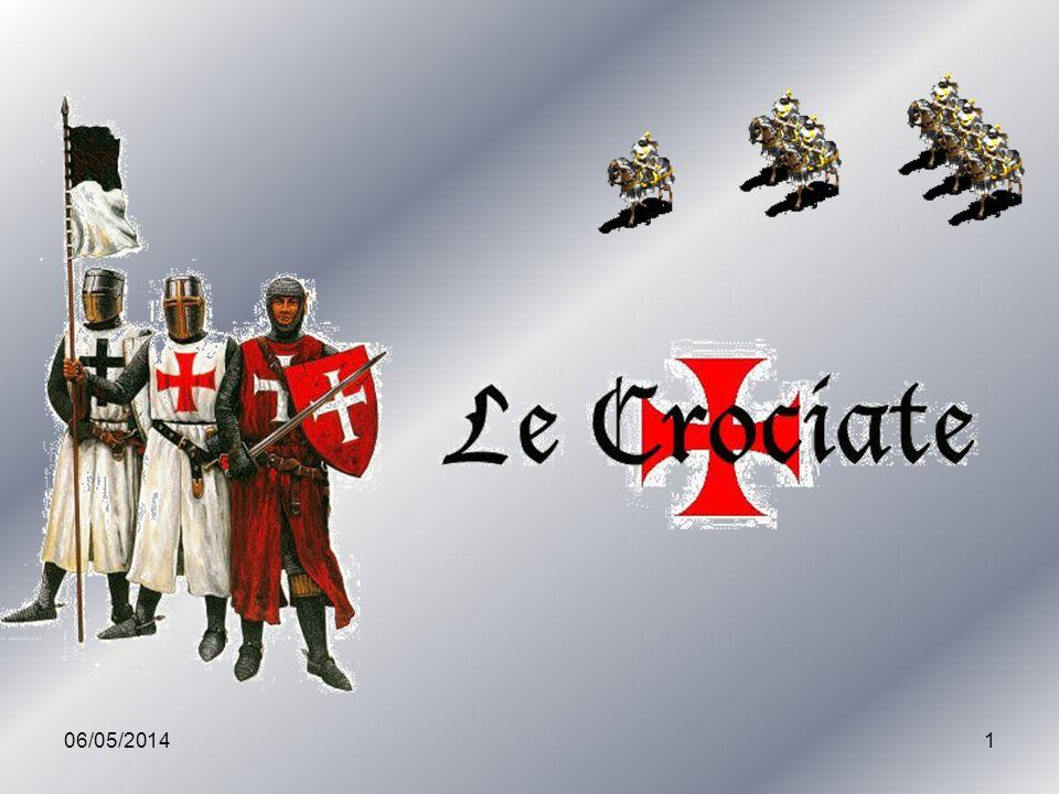 06/05/201422 La seconda Crociata Con la conquista di Edessa (1144) ad opera dei Turchi cominciò la controffensiva musulmana e cadde il primo degli Stati cristiani sorti dopo la Crociata.