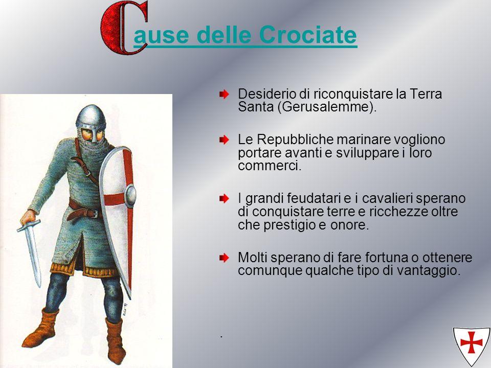 06/05/201425 Le ultime Crociate La quinta e la sesta Crociata furono entrambe guidate dall imperatore di Germania e re di Sicilia Federico II.