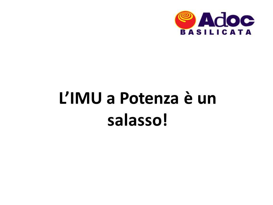 LIMU a Potenza è un salasso!