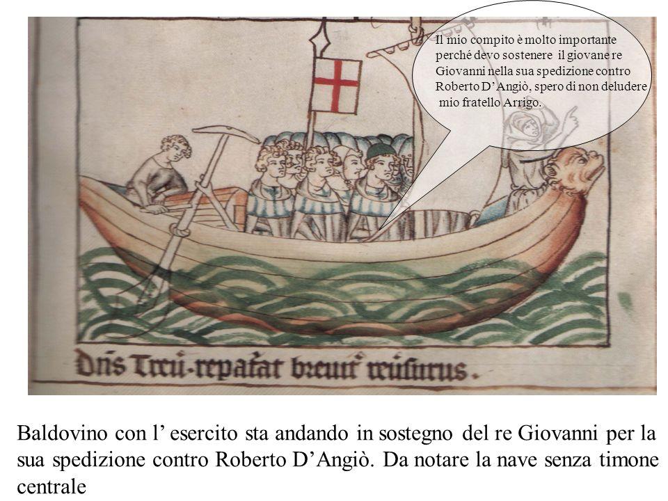 Il re Arrigo sbarca a Genova con 800 cavalieri. Occorrono 30 navi per arrivare al porto Pisano. Si evita la via per terra perché era controllata dalle