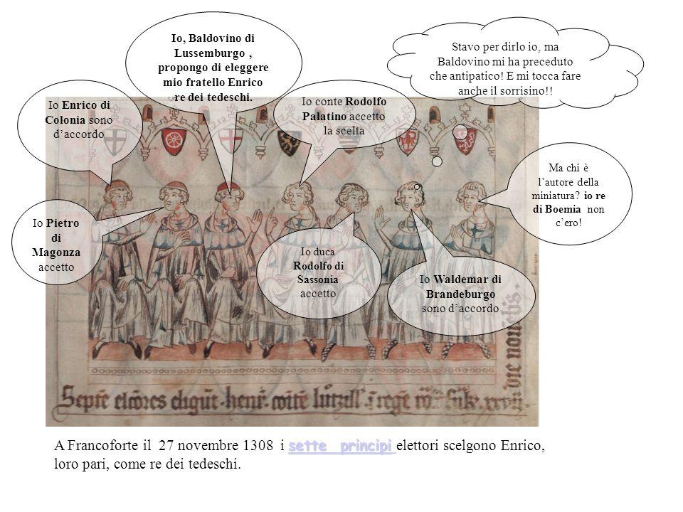 Le informazioni sono state ricavate dalle miniature del codice di Baldovino del XIV secolo