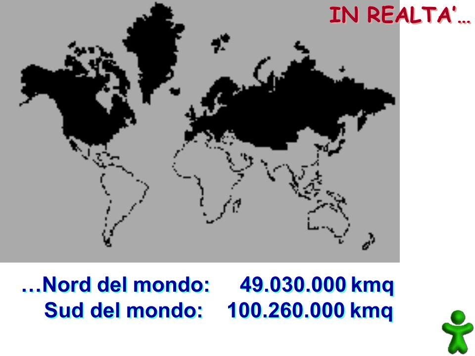 …Africa: 30.258.010 kmq Groenlandia: 2.176.165 kmq …Africa: 30.258.010 kmq Groenlandia: 2.176.165 kmq IN REALTA…