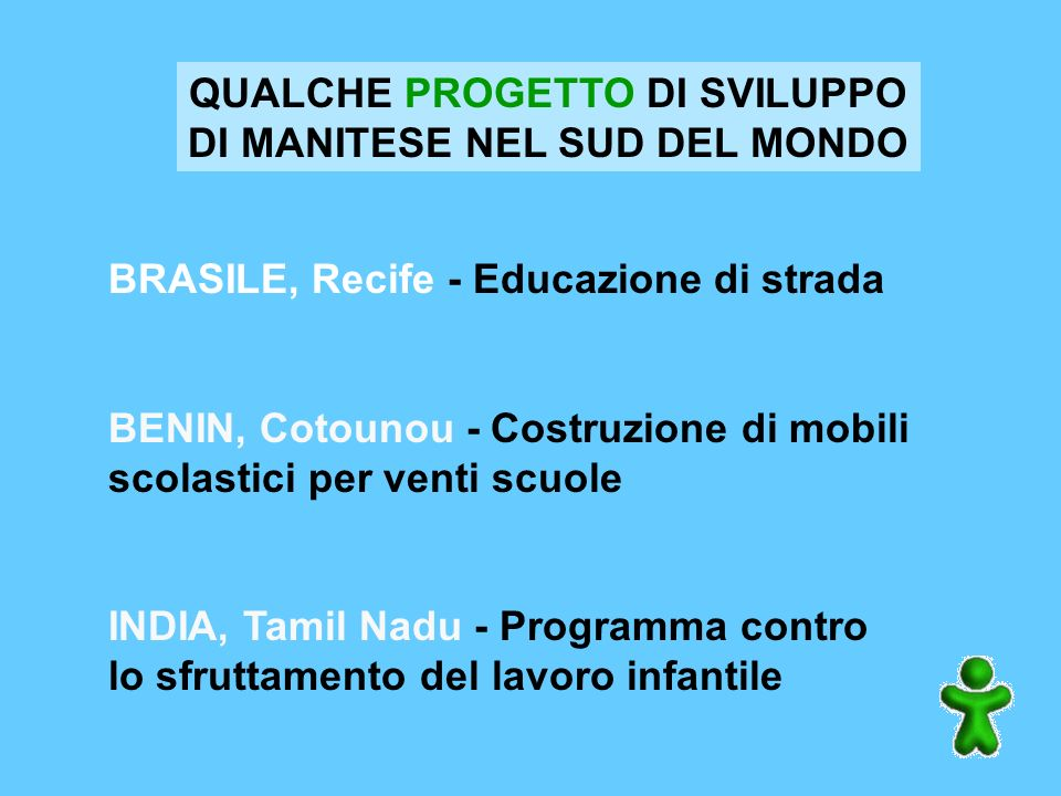 associazione presente in tutta Italia con 40 gruppi di volontariato lavora CONTRO la fame e gli squilibri tra Nord e Sud e PER un altro modello di svi