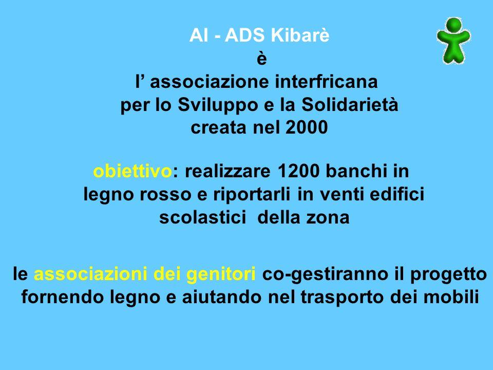 BENIN Associazione AI-ADS KIBARE In Benin i problemi di sviluppo della comunità sono numerosi. La scuola è apparsa come un emergenza primaria, perchè