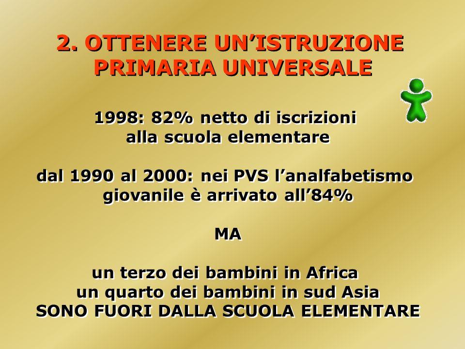 2. OTTENERE UNISTRUZIONE PRIMARIA UNIVERSALE 2.