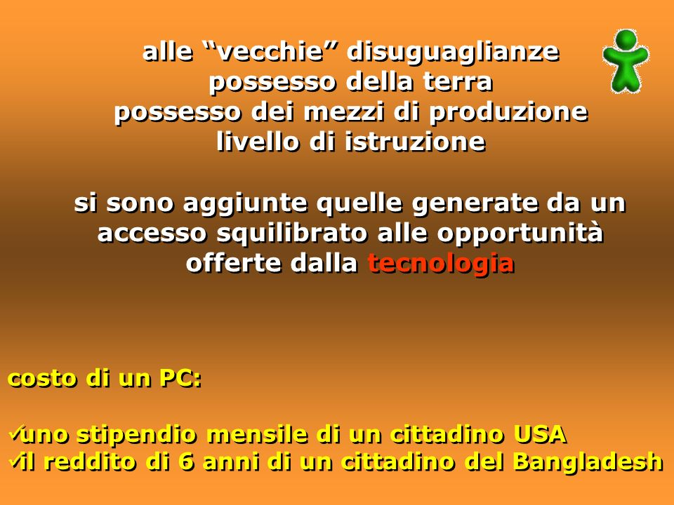 8.SVILUPPARE UNA PARTNERSHIP GLOBALE PER LO SVILUPPO E LASSISTENZA 8.